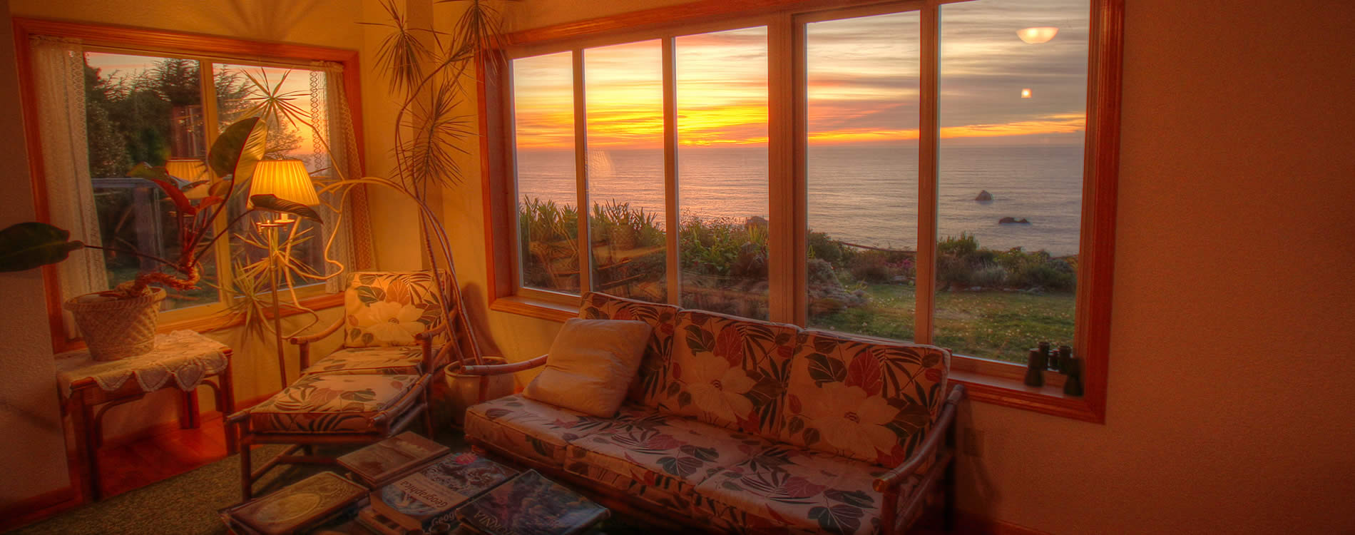 northern california coast bed and breakfast - oceanview lodging in trinidad ca