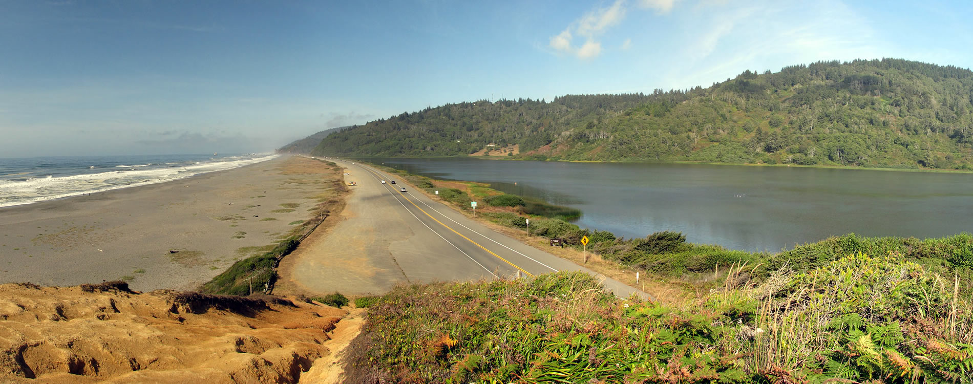 northern california coast redwood highway one