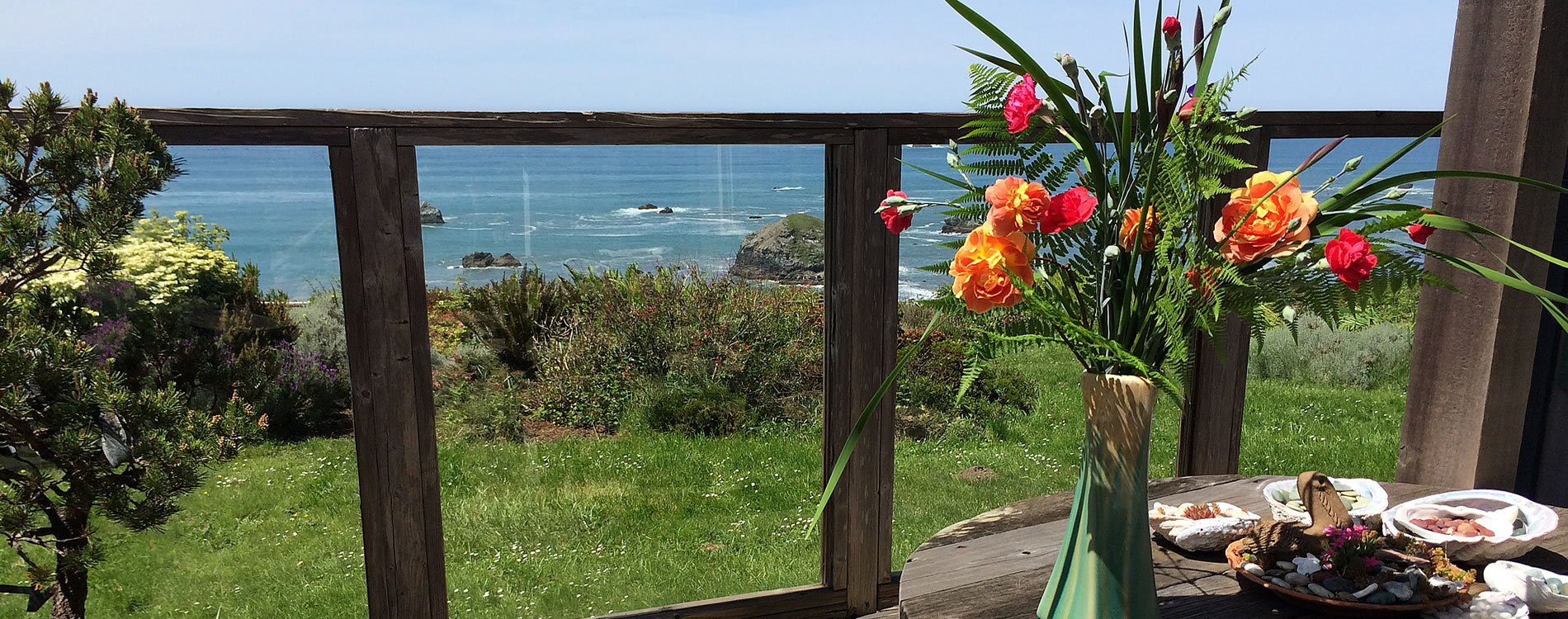 oceanview bed and breakfast northern callifornia coast